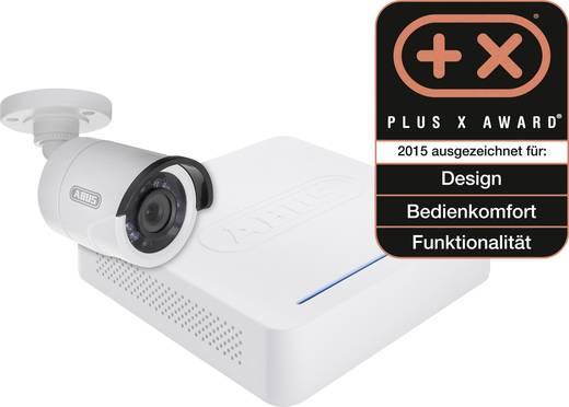 analog berwachungskamera set 4 kanal mit 1 kamera 600 tvl 500 gb abus tvvr30104. Black Bedroom Furniture Sets. Home Design Ideas
