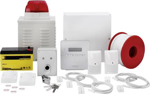 ABUS Alarmanlagen-Sets Terxon SX AZ4301 Alarmzonen 8x Drahtgebunden, 1x Sabotagezone