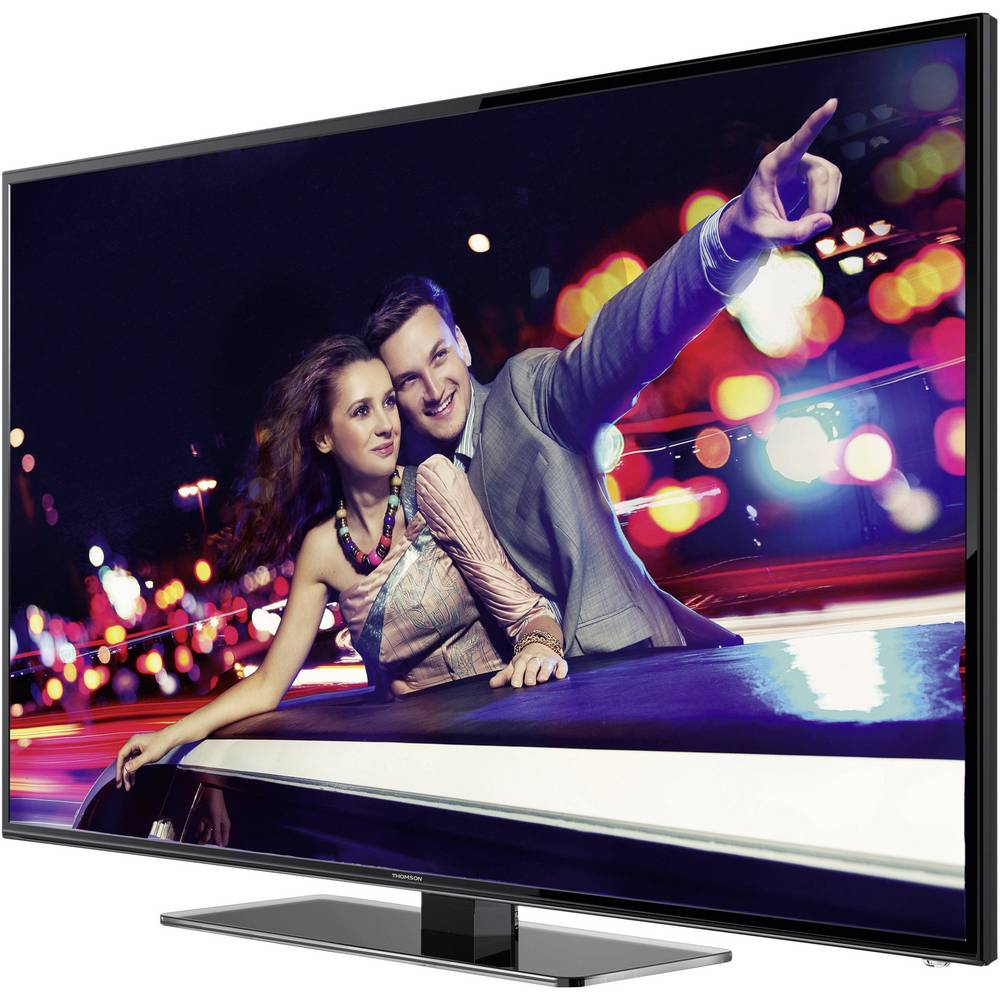 led tv 122 cm 48 thomson 48fz4533 dvb t dvb c full hd smart tv wlan ci black glossy. Black Bedroom Furniture Sets. Home Design Ideas