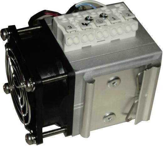 Schaltschrank-Gebläseheizung Mixi Duo Rose LM 24 - 230, 230 V/DC, V/AC 200 W (L x B x H) 80 x 60 x 76 mm