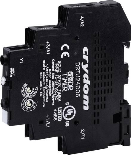 Halbleiterrelais 1 St. Crydom DRTC24A06 Last-Strom (max.): 6 A Schaltspannung (max.): 280 V/AC Nullspannungsschaltend