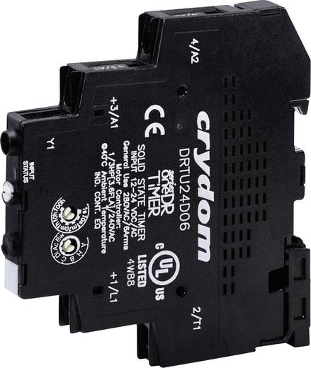 Halbleiterrelais 1 St. Crydom DRTU24D06R Last-Strom (max.): 6 A Schaltspannung (max.): 280 V/AC Sofortschaltend
