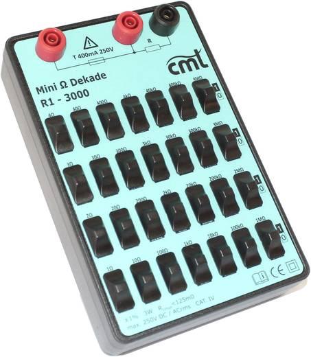 Cosinus R1-3000 Mess-Dekade, Widerstandsdekade 1 Ω - 11.11111 M Ω 250 V