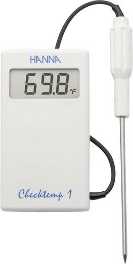 Einstichthermometer (HACCP) Hanna Instruments Checktemp 1 Messbereich Temperatur -50 bis 150 °C HACCP-konform Kalibrier