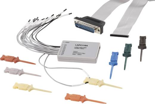 VOLTCRAFT MSO-16A 16-Kanal-Messleitung MSO-16A, Passend für (Details) MSO-5062B, MSO-5102B MSO-16A