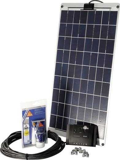 Solar-Set SM 30L pour bateaux et yachts Sunset 110262 30 Wp inkl. Anschlusskabel, inkl. Laderegler, geeignet für Wohnmob