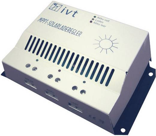 Solar-Laderegler 12 V, 24 V 10 A IVT MPPT