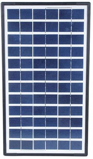 Monokristallines Solarmodul 3.5 Wp 12 V Sundaya LEC50