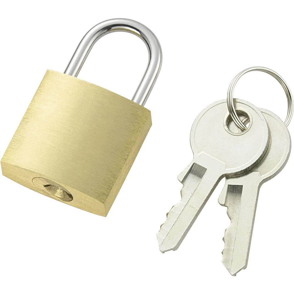 padlock 21 mm 110496 brass from conrad com