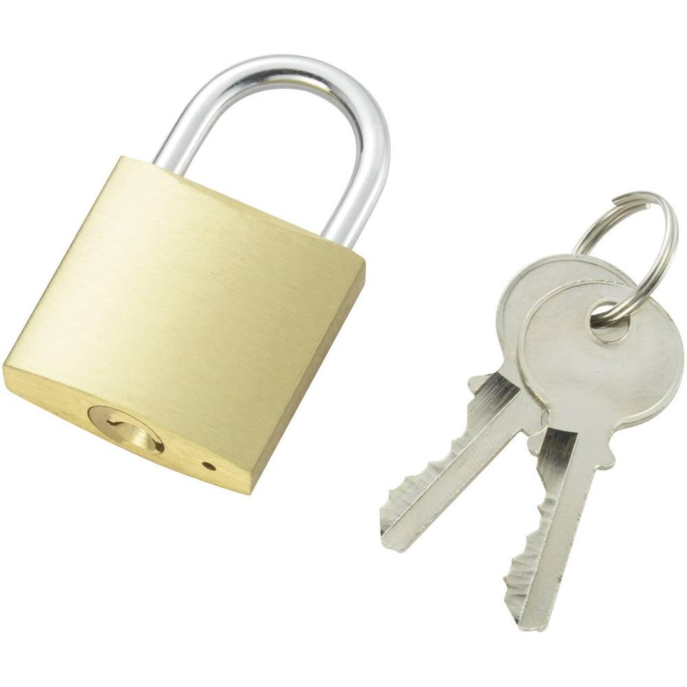 padlock 32 mm 110500 brass from conrad com