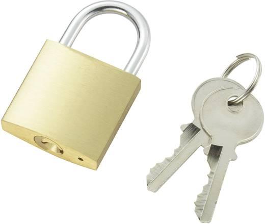 Vorhängeschloss 32 mm 110500 Messing Schlüsselschloss