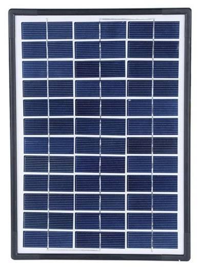 Monokristallines Solarmodul 7 Wp 12 V Sundaya LEC100