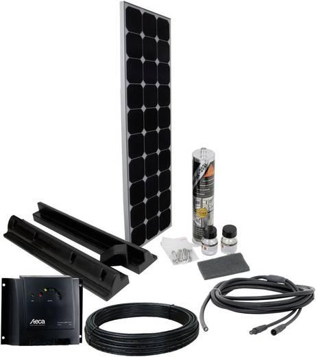 Solar-Set PN SPR4 Phaesun 100 Wp inkl. Anschlusskabel, inkl. Laderegler, geeignet für Wohnmobil und Boot