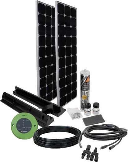 PN SPR3 Phaesun SPR 3 Solar-Set 200 Wp inkl. Anschlusskabel, inkl. Laderegler, geeignet für Wohnmobil und Boot