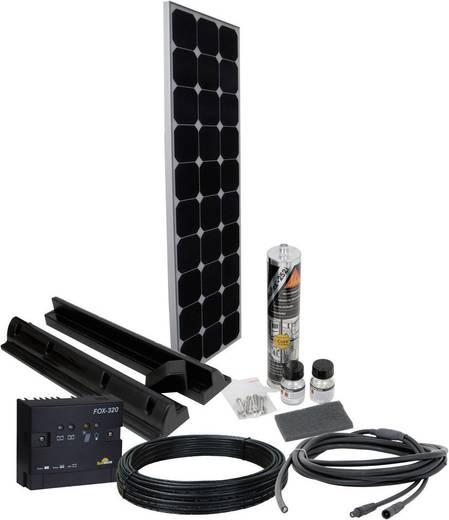 Solar-Set SPR2 Phaesun 100 Wp inkl. Anschlusskabel, inkl. Laderegler, geeignet für Wohnmobil und Boot
