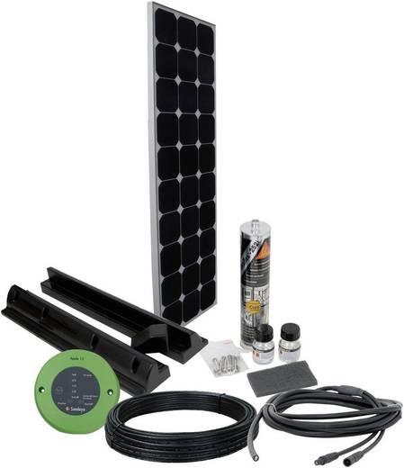 Solar-Set SPR1 Phaesun 100 Wp inkl. Anschlusskabel, inkl. Laderegler, geeignet für Wohnmobil und Boot