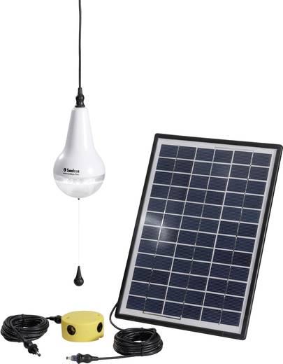 Solar-Set mit Lampe, inkl. Anschlusskabel Sundaya Ulitium Kiit 1 303205 Leistung 3 Wp
