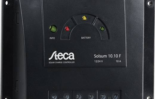 Steca Solsum 10.10 F Laderegler Serie 12 V, 24 V 10 A