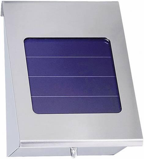 Esotec Shine 102080-01 Solar-Außenwandleuchte Neutral-Weiß Edelstahl