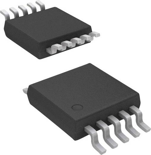 Linear IC - Komparator Maxim Integrated MAX9043AEUB+ mit Spannungsreferenz CMOS, Push-Pull, Rail-to-Rail, TTL uMAX-10