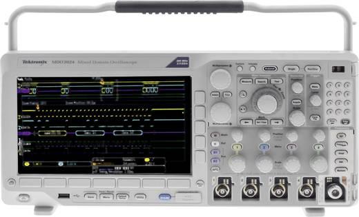 Digital-Oszilloskop Tektronix MDO3024 200 MHz 4-Kanal 2.5 GSa/s 10 Mpts 11 Bit Kalibriert nach DAkkS Digital-Speicher (D