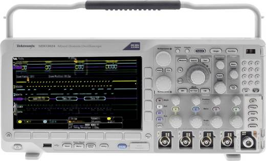 Digital-Oszilloskop Tektronix MDO3024 200 MHz 4-Kanal 2.5 GSa/s 10 Mpts 11 Bit Kalibriert nach ISO Digital-Speicher (DSO