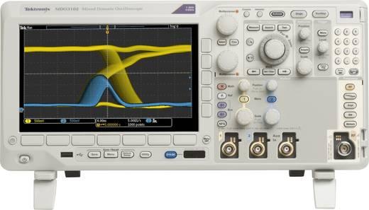 Digital-Oszilloskop Tektronix MDO3102 1 GHz 2-Kanal 5 GSa/s 10 Mpts 11 Bit Kalibriert nach ISO Digital-Speicher (DSO), M