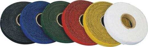 Klettband zum Bündeln Haft- und Flauschteil (L x B) 25000 mm x 10 mm Rot Fastech T0601013391125 25 m