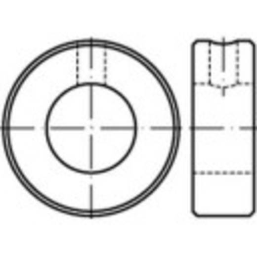 Stellringe Außen-Durchmesser: 32 mm M6 DIN 705 Stahl 10 St. TOOLCRAFT 112448