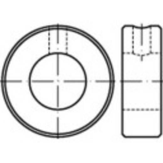 Stellringe Außen-Durchmesser: 40 mm M8 DIN 705 Stahl 10 St. TOOLCRAFT 112451