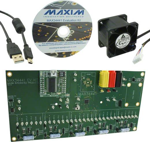 Entwicklungsboard Maxim Integrated MAX34441EVKIT#