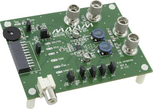 Entwicklungsboard Maxim Integrated MAX9768EVKIT+