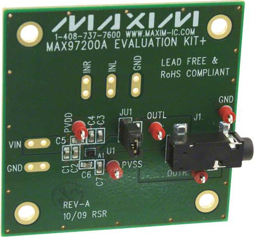 Entwicklungsboard Maxim Integrated MAX97200AEVKIT+