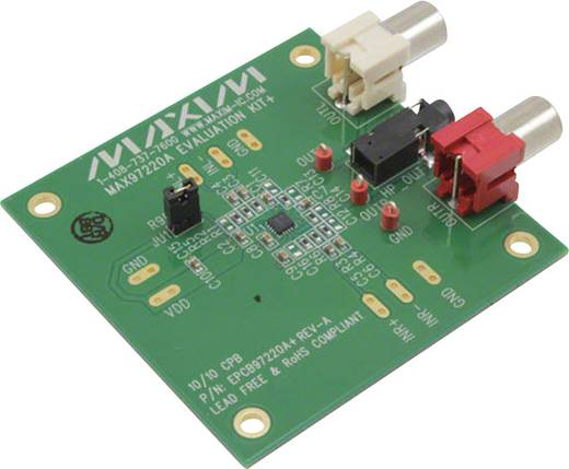 Entwicklungsboard Maxim Integrated MAX97220AEVKIT+