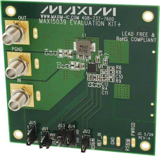 Entwicklungsboard Maxim Integrated MAX15039EVKIT+