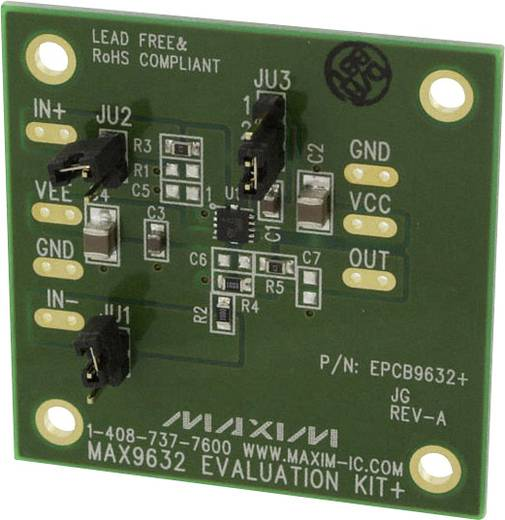 Entwicklungsboard Maxim Integrated MAX9632EVKIT+