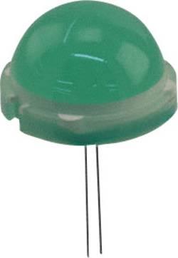 LED 20 mm LUMEX SSL-LX20R6GD vert rond 25 mcd 120 ° 25 mA 6.6 V 1 pc(s)