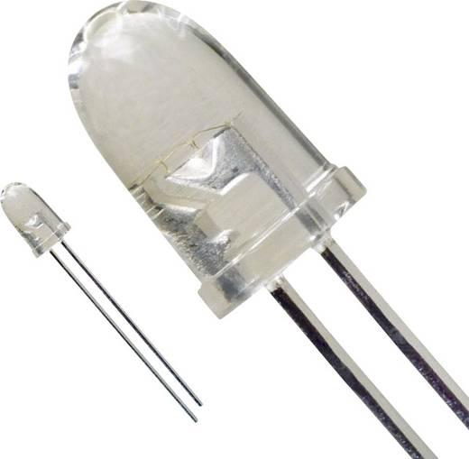 LED bedrahtet Weiß Rund 5 mm 2.3 cd 15 ° 30 mA 3.6 V LUMEX SSL-LX5093XUWC