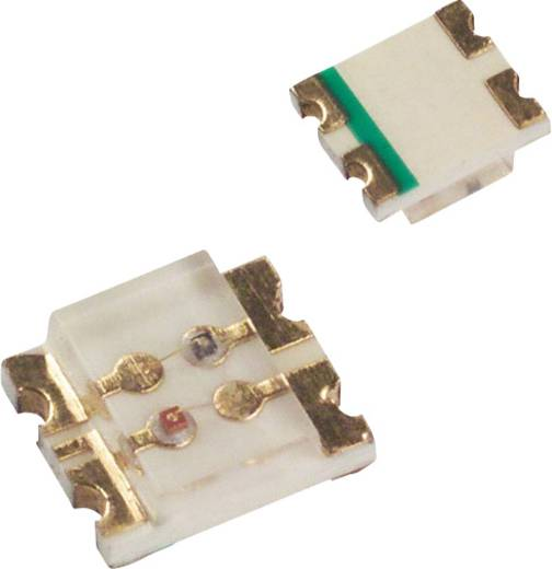 SMD-LED 3225 Grün, Rot 10 mcd, 15 mcd 160 ° 20 mA 2.2 V, 1.7 V LUMEX SML-LX1210SRSGC-TR