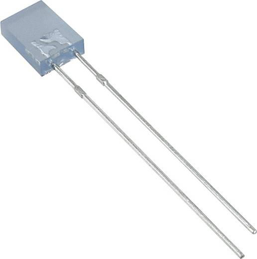 LED bedrahtet Blau Rechteckig 2 x 5 mm 70 mcd 110 ° 30 mA 3.5 V LUMEX SSL-LX2573USBD