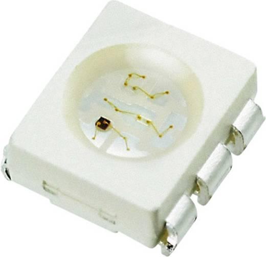 SMD-LED PLCC6 Rot, Grün, Blau 700 mcd, 1200 mcd, 200 mcd 120 ° 20 mA 2.1 V, 3.2 V Seoul Semiconductor SFT722N-S