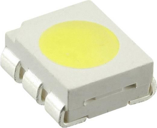 SMD-LED PLCC6 Kalt-Weiß 14600 mcd 50 mA 3.8 V CREE CLP6B-WKW-CD0E0453