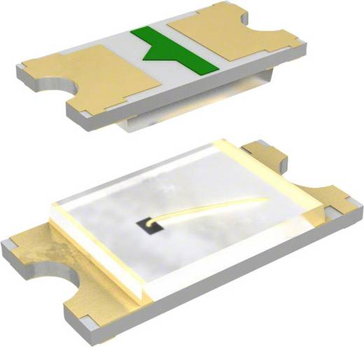 SMD-LED 1608 Rot 16 mcd 5 mA 1.95 V Panasonic LNJ237W82RA