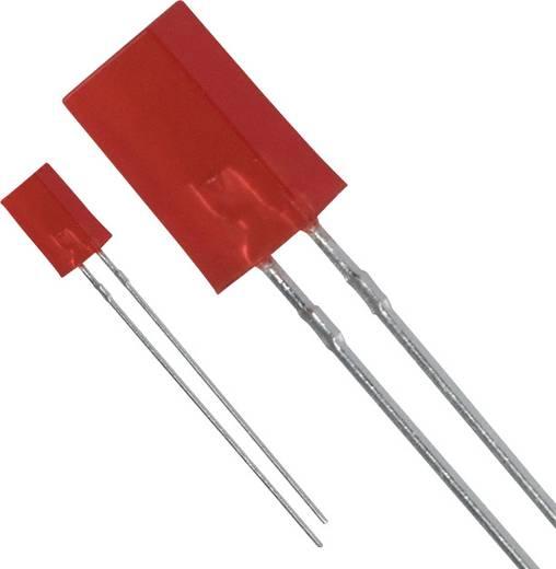 LED bedrahtet Rot Rechteckig 2 x 5 mm 0.4 mcd 25 mA 2.2 V Panasonic LN242RPX