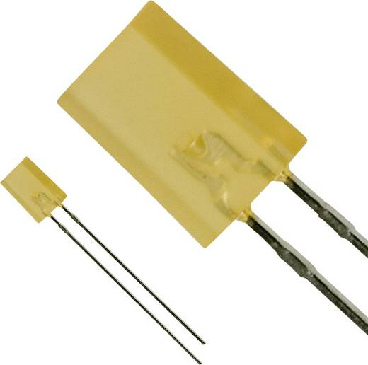 LED bedrahtet Bernstein Rechteckig 2 x 5 mm 2 mcd 30 mA 2.2 V Panasonic LNG442YKX