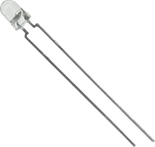 LED bedrahtet Orange Rund 3 mm 10 mcd 44 ° 30 mA 2.4 V Vishay TLHO4200