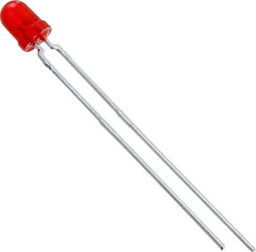 Vishay TLLR4400 LED bedrahtet Rot Rund 3.2 mm 1.2 mcd 50 ° 7 mA 1.9 V