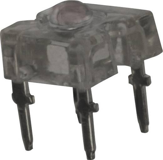 Vishay TLWR7600 LED bedrahtet Rot Rechteckig 3.2 mm 60 ° 70 mA 2.2 V