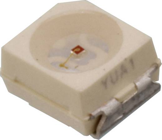 SMD-LED PLCC2 Grün 20 mcd 120 ° 10 mA 2.2 V Vishay VLMG31L1M2-GS18