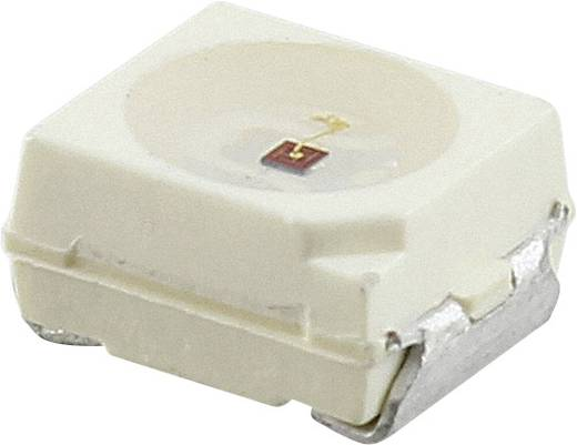SMD-LED PLCC2 Bernstein 2800 mcd 120 ° 50 mA 2.25 V Vishay VLMK334BACB-GS08